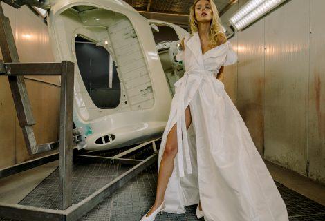 """""""Airida Skrick"""" nuotakų suknelės – lygiavertėms partnerėms"""