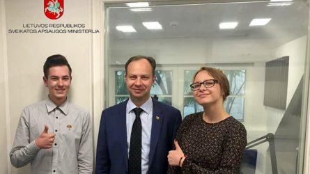 """""""Z KARTA"""" bendraus su LR Sveikatos apsaugos ministru"""