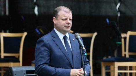 Premjeras: tariu nuoširdų ačiū už Jūsų neįkainojamą indėlį į Lietuvos sėkmės istoriją