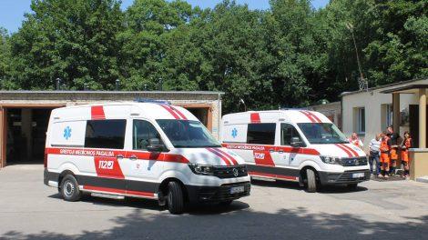 Du nauji greitosios pagalbos automobiliai – Kėdainių medikams