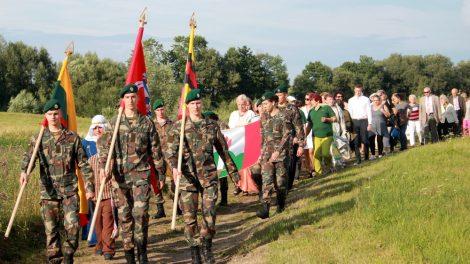 Minint Valstybės dieną Rudaminai įteiktas herbas