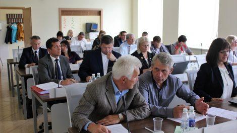 Posėdžiavo Šiaulių rajono savivaldybės taryba