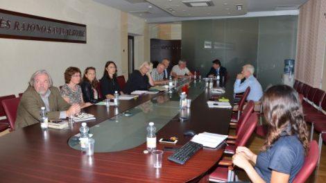 Diskutuota su medicinos įstaigų vadovais
