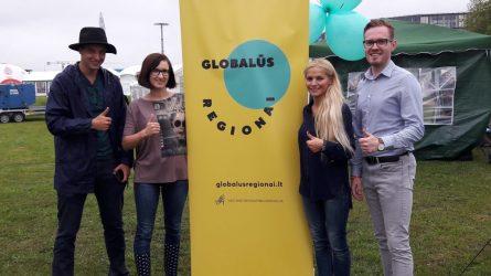 """""""Laisvės piknike"""" pristatytas LSA projektas """"Globalūs Regionai"""""""