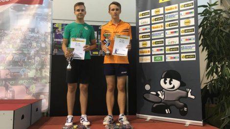 Stalo tenisininkai iš Vokietijos grįžo su apdovanojimais