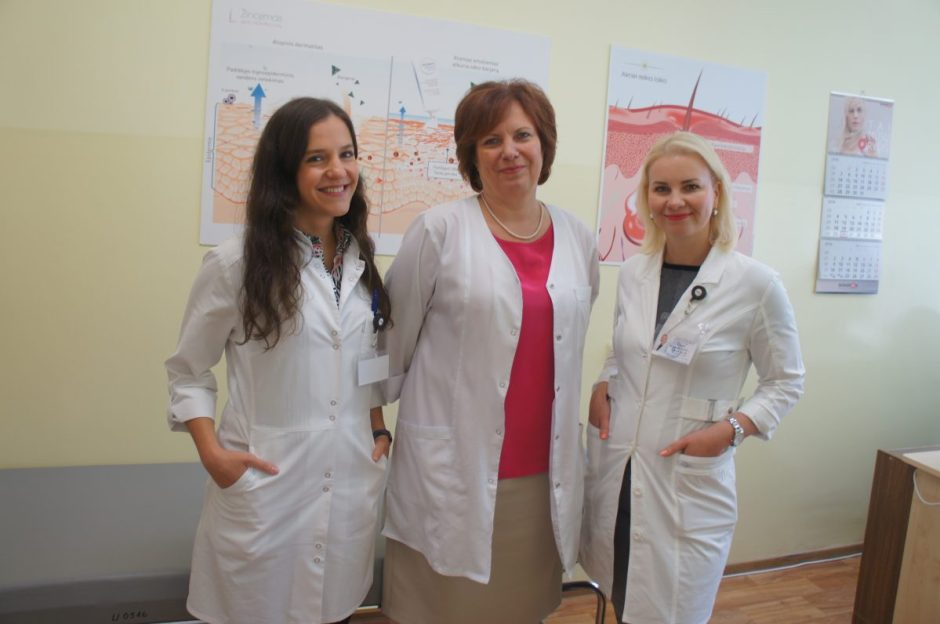 Odos ligų centre – moderni diagnostika ir šiuolaikiškas gydymas