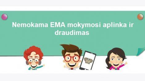 Tauragės rajono pradinukams - nemokama EMA mokymosi aplinka ir draudimas