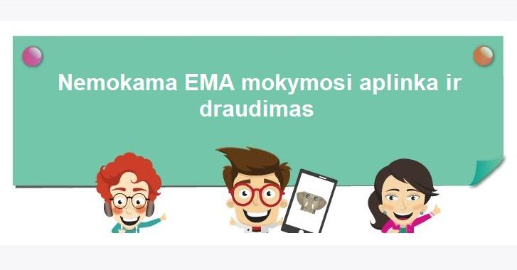 Tauragės rajono pradinukams – nemokama EMA mokymosi aplinka ir draudimas