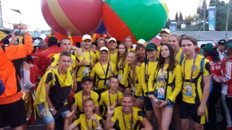 Šiaulių delegacija grįžo iš pasaulio vaikų žaidynių