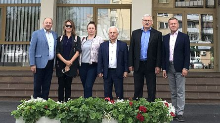 Radviliškio rajone lankosi tarptautinio bendradarbiavimo partneriai