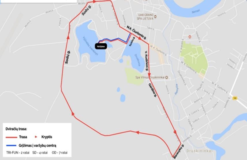 Rugsėjo 1 dieną kurorto centre bus ribojamas eismas