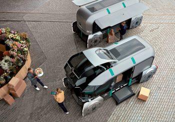"""""""RENAULT Z35.2"""" savavaldis elektromobilis: pristatymo paslaugų vizija"""
