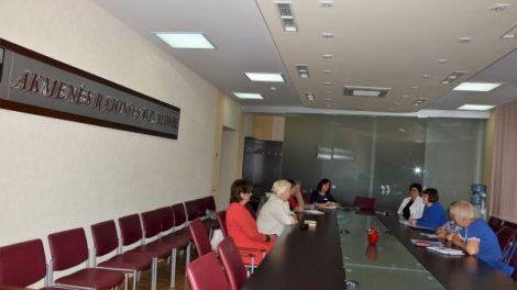 Rajono neįgaliųjų organizacijų ir Savivaldybės atstovų susitikimas