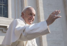Kelionės į Baltijos šalis išvakarėse popiežius atsiuntė savo sveikinimą