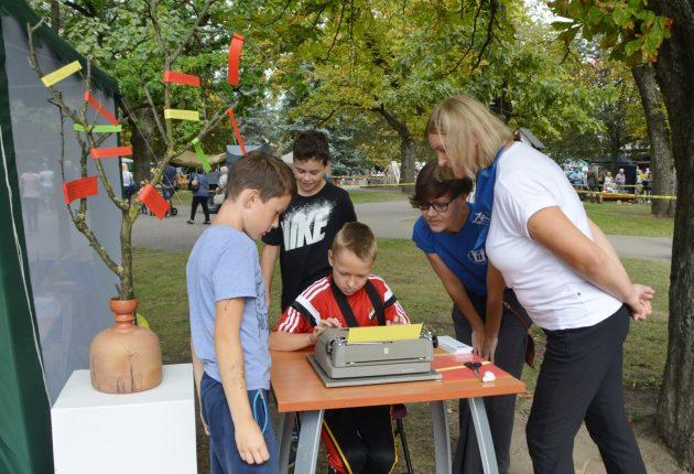 Biblioteka šventė miesto gimtadienį