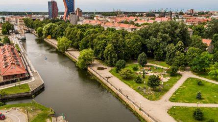 Auga gyventojų pasitenkinimas Klaipėdos miestu