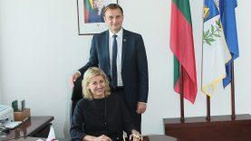 Švenčiantį miestą aplankiusi ministrė: Šiauliai tampa kultūros židiniu