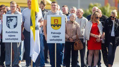 Radviliškio rajono seniūnijų sportininkai dalyvavo XI Lietuvos seniūnijų sporto žaidynių finale