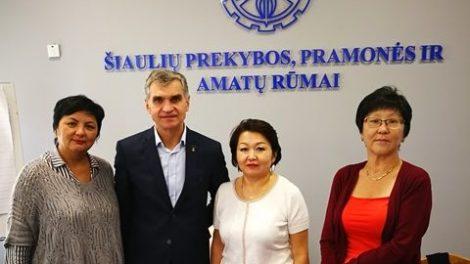 Rūmuose svečiai iš Kazachstano