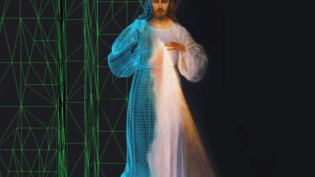 Popiežiaus vizito išvakarėse Vilnių garsinantis paveikslas atgijo virtualioje realybėje