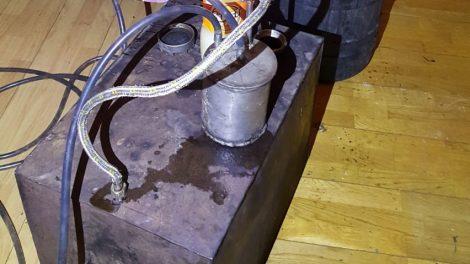 Jonavos rajono gyventojo namuose aptiktas aparatas, skirtas naminei degtinei gaminti