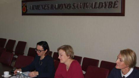 Susitikimas su Socialinės apsaugos ir darbo ministerijos atstovais – sieks padėti bedarbiams
