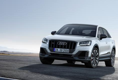 """Galingiausias kompaktinis SUV: naujasis """"Audi SQ2"""""""