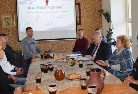 Susitikimas su verslo atstovais Veiviržėnų seniūnijoje