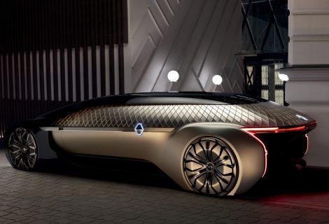 """Renault EZ-ULTIMO"": prabangus savavaldis elektromobilis"