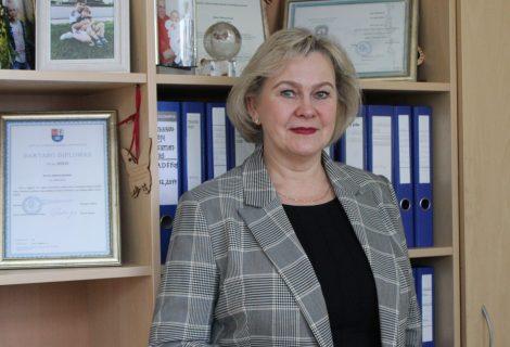 Šiaulių teritorinė ligonių kasa turi naują vadovę