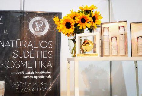 Šiauliečių vaistininkų gaminamai kosmetikai – dar vienas aukso medalis