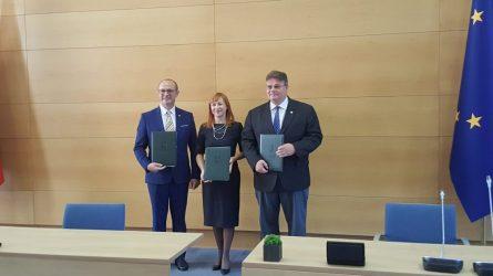 Pasirašyta tarpinstitucinio bendradarbiavimo švietimo ir ugdymo Europos Sąjungos klausimais deklaracija