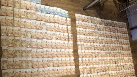 Sulaikyti 185 tūkst. eurų vertės vagystę galimai įvykdę asmenys