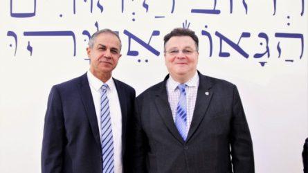 Vilniuje vyko Lietuvos 100-mečiui ir Izraelio 70-mečiui skirta konferencija