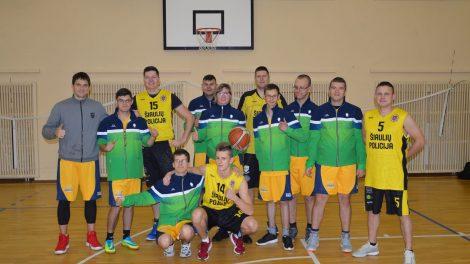 Šiaulių policijos komanda jau 5 metus krepšinį žaisti kviečia neįgaliuosius