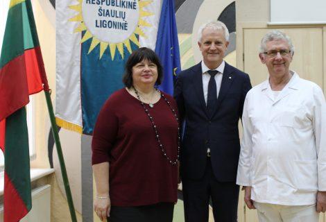 Su naujuoju vadovu Šiaulių ligoninė ruošiasi atsinaujinti
