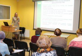 Ligonių kasų atstovė susitiko su trečiojo amžiaus universiteto bendruomene