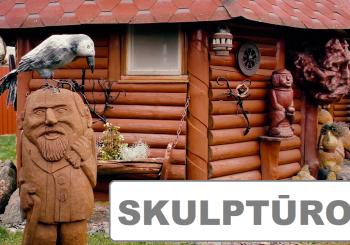 Sugrąžinkite medines skulptūras, koplytstulpius ir raižinius  į jūsų sodybas bei kiemus.