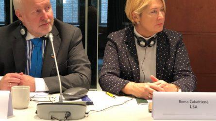 LSA direktorė dalyvavo CEMR vadovų susitikime Briuselyje