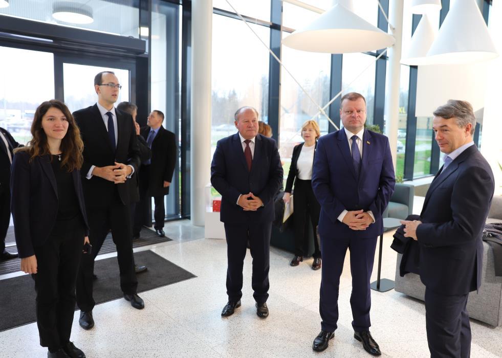 S. Skvernelis: Kauno rajone netrukus užvirs dideli darbai