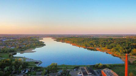 Talkšos ežero pakrantė taps moderniu šiauliečių laisvalaikio ir poilsio centru