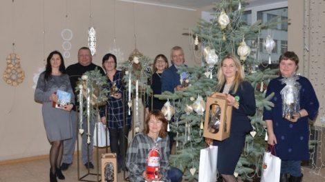 Apdovanoti kalėdinio konkurso dalyviai