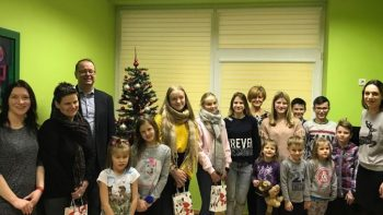 Jau 25-ąjį kartą norvegai iš Leša savivaldybės atvyksta su dovanomis