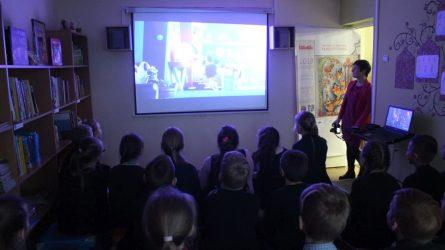 Animacinių filmų festivalis svečiavosi Kuršėnuose