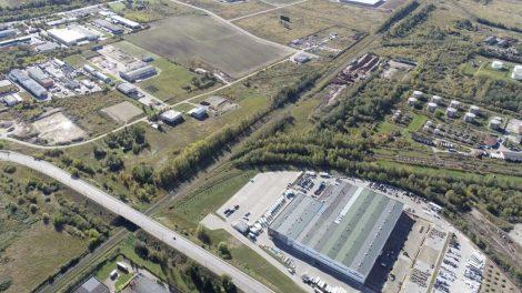 """Panevėžio LEZ tiesiogiai jungiasi prie svarbiausio Baltijos šalyse transporto koridoriaus """"Via Baltica"""""""