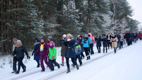 Pusiaužiemio eitynėse – žiemos linksmybės