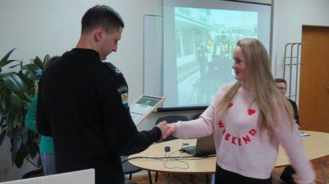 Raseinių jaunieji policijos rėmėjai pažadėjo ir toliau aktyviai prisidėti prie saugios aplinkos kūrimo