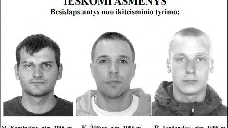 Policija prašo pagalbos ieškant besislapstančių asmenų