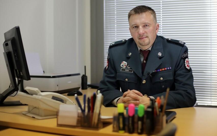 Naujasis Trakų rajono policijos komisariato viršininkas pradėjo tarnybą