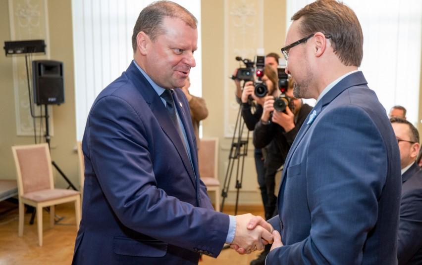 Kultūros ministras Mindaugas Kvietkauskas pradeda darbą